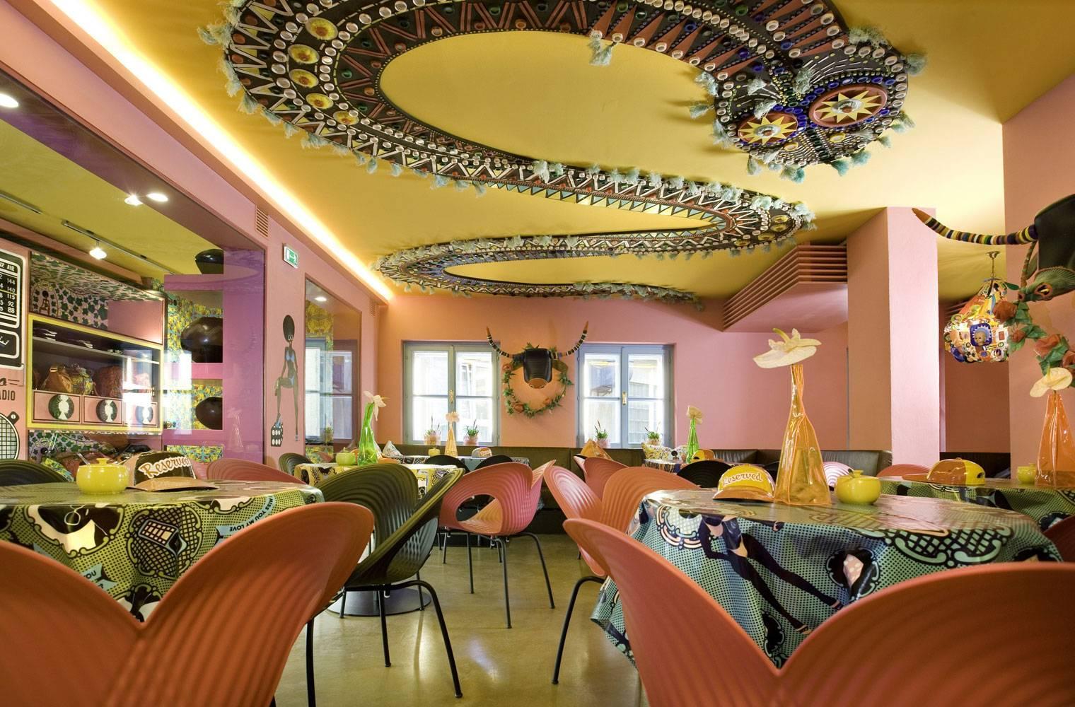 Afro Cafe, Saltzburg - Restaurant