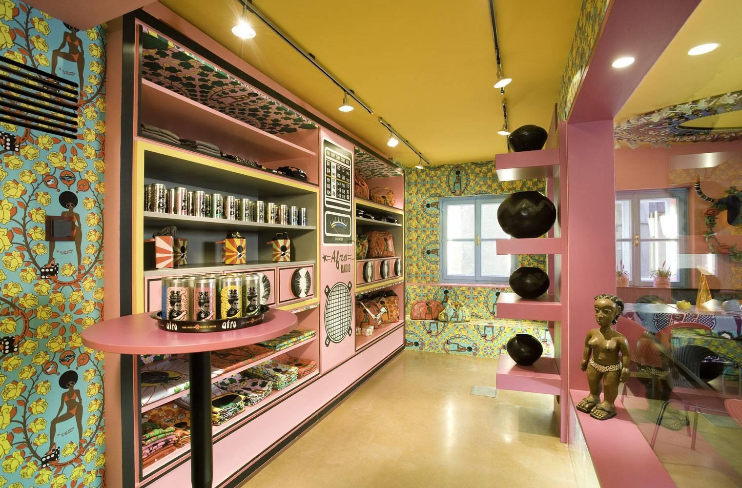 Afro Cafe, Saltzburg - Retail Section