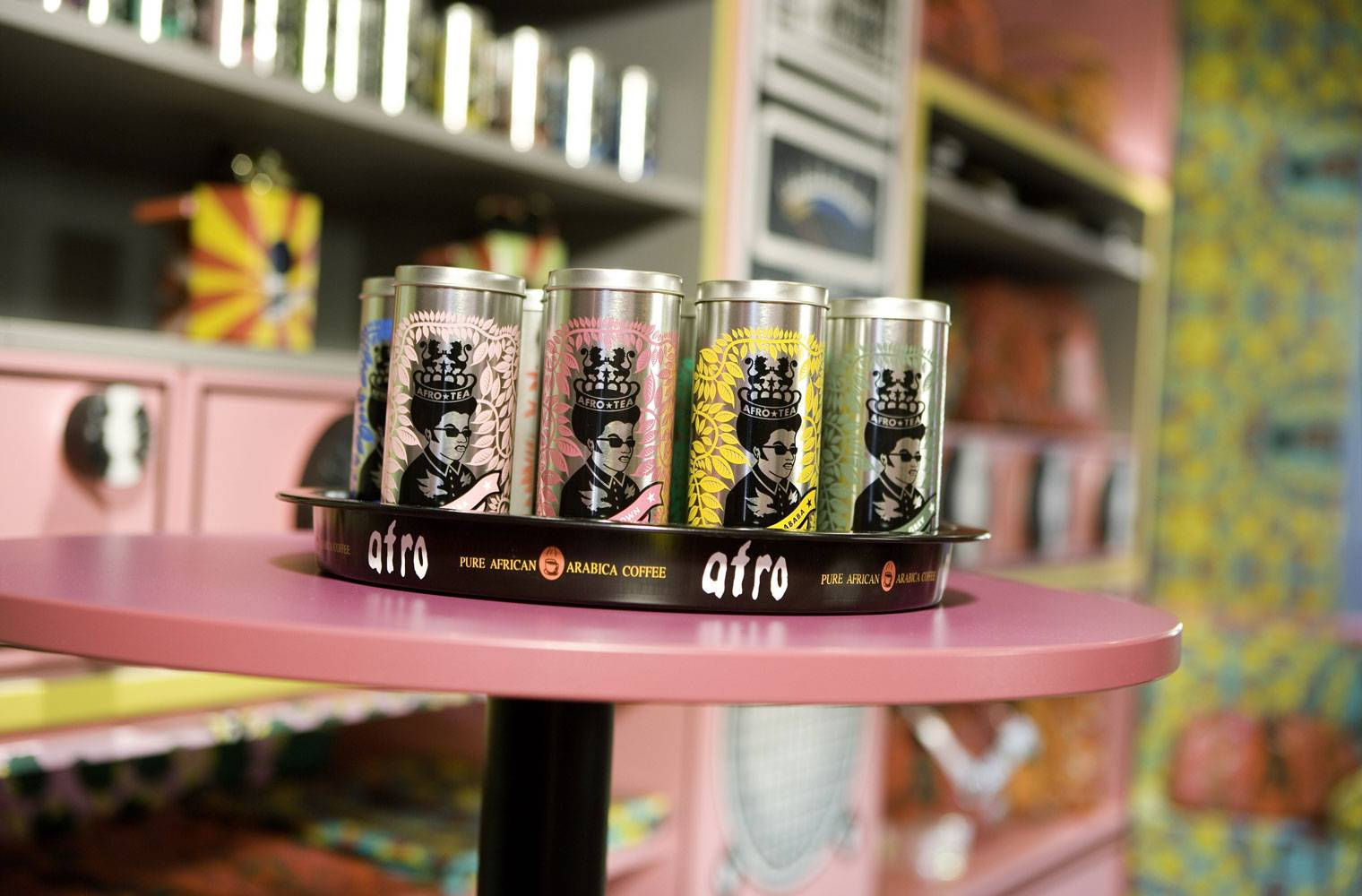 Afro Cafe, Saltzburg - Packaging