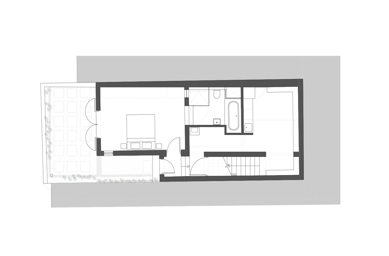 43 Lion Street - Lower Ground Floor Plan