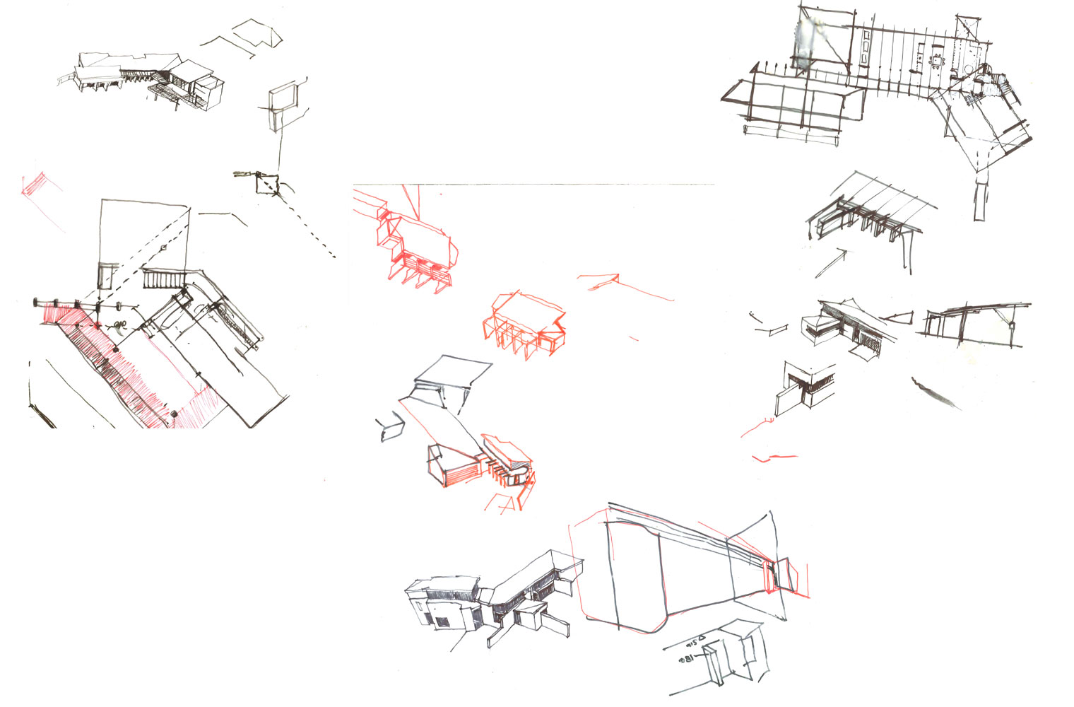 Hurlingham House - Concept Sketches