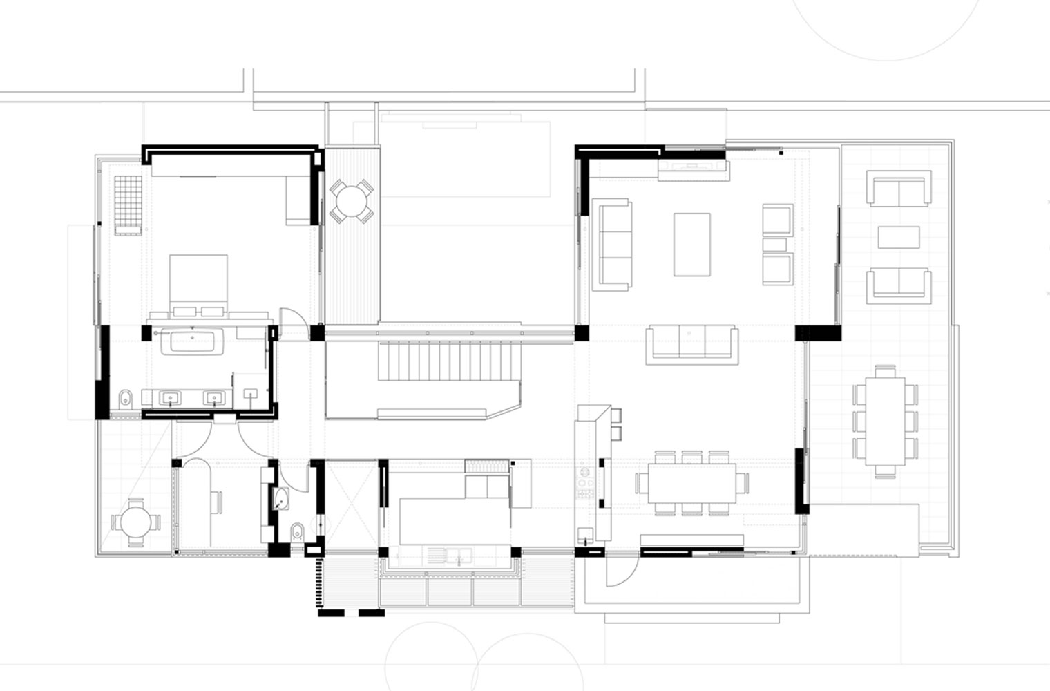 Langbaai House - First Floor Plan