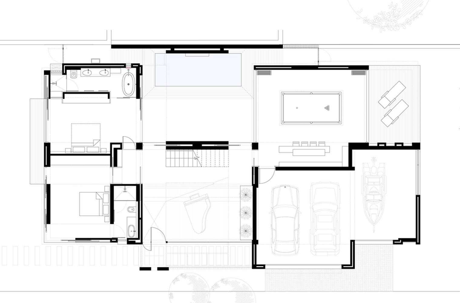 Langbaai House - Ground Floor Plan