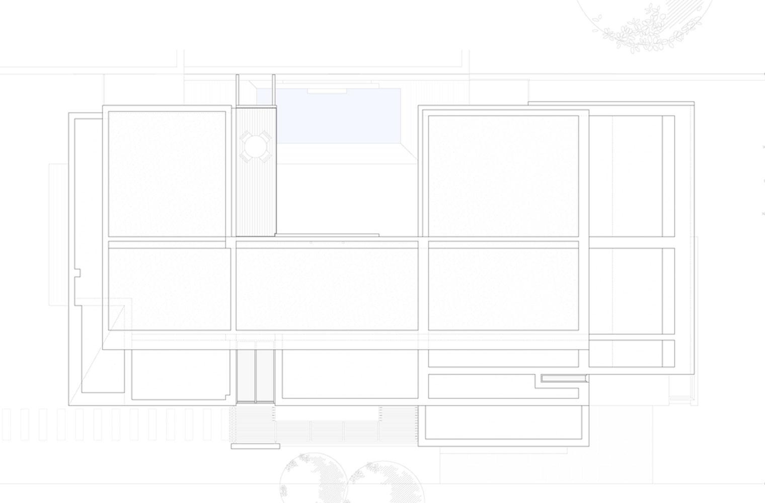 Langbaai House - Roof Plan