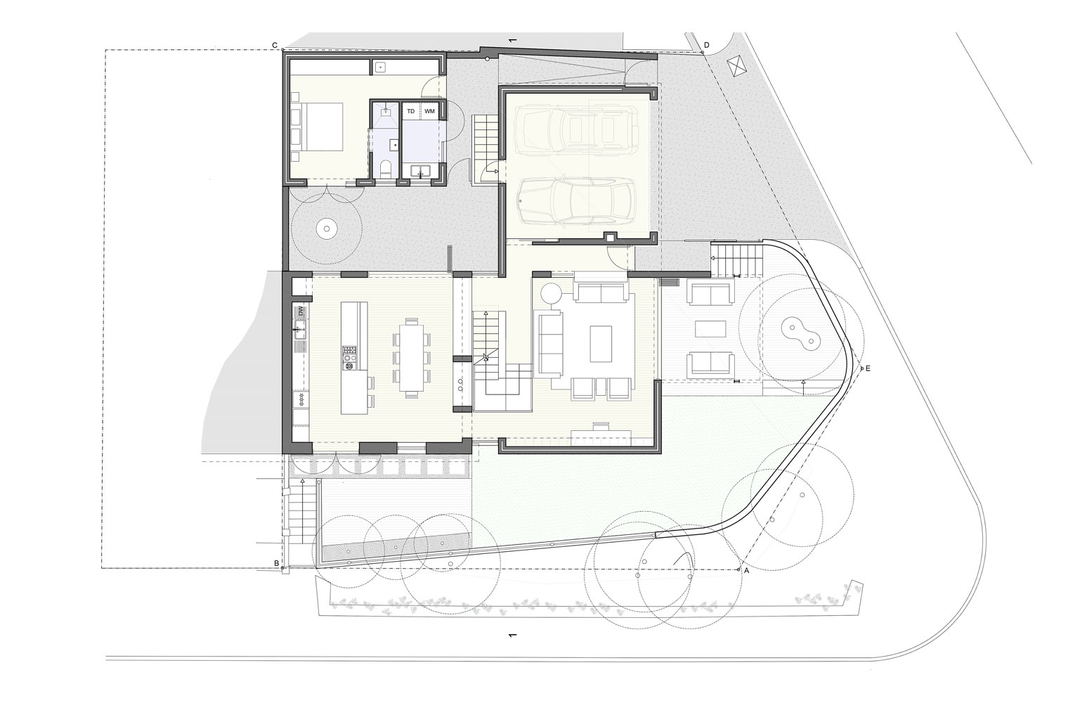 27 Clovelly Avenue - Ground Floor Plan