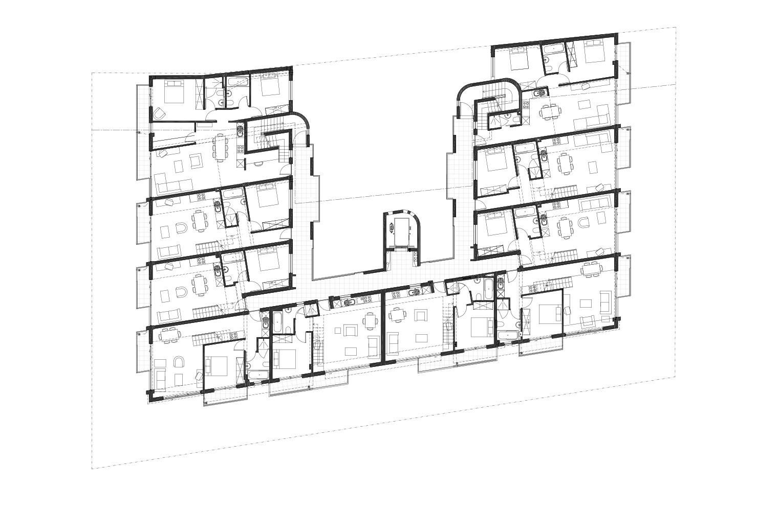 Canterbury Square - Sixth Floor Plan