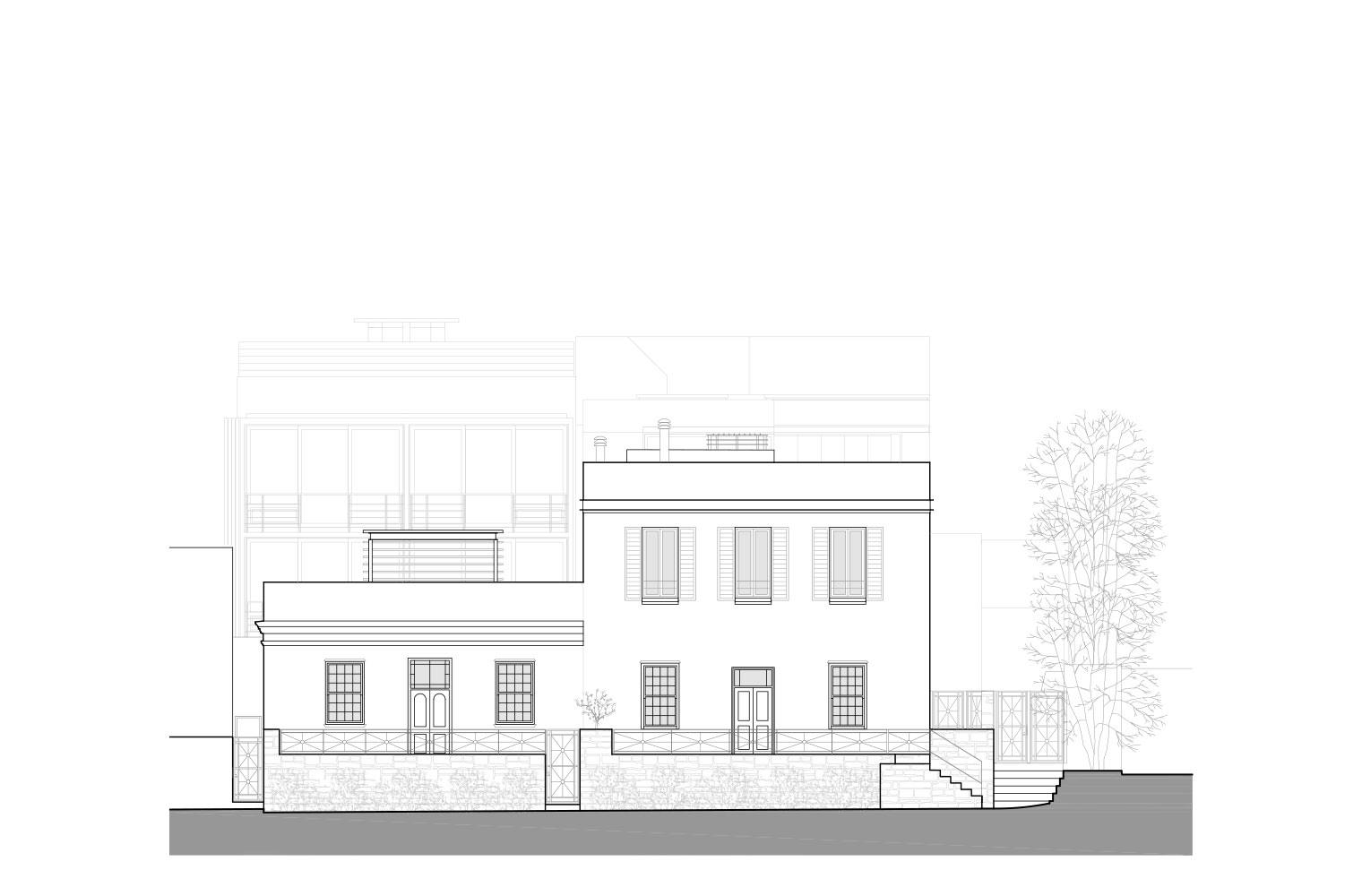 De Waterkant - Waterkant Street Elevation