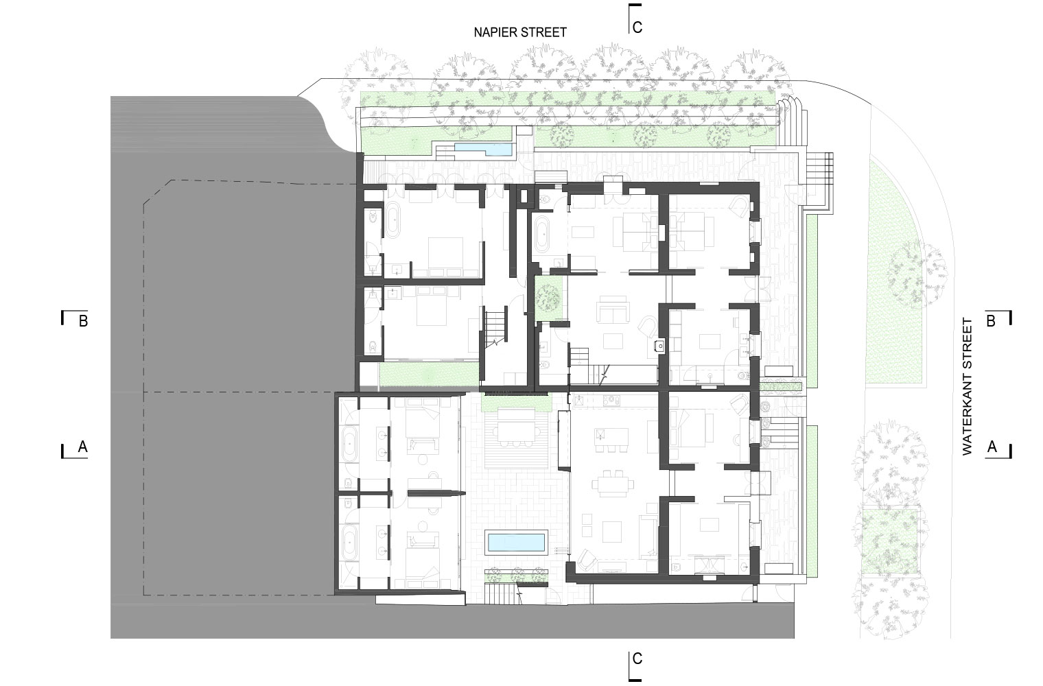 De Waterkant - Ground Floor Plan