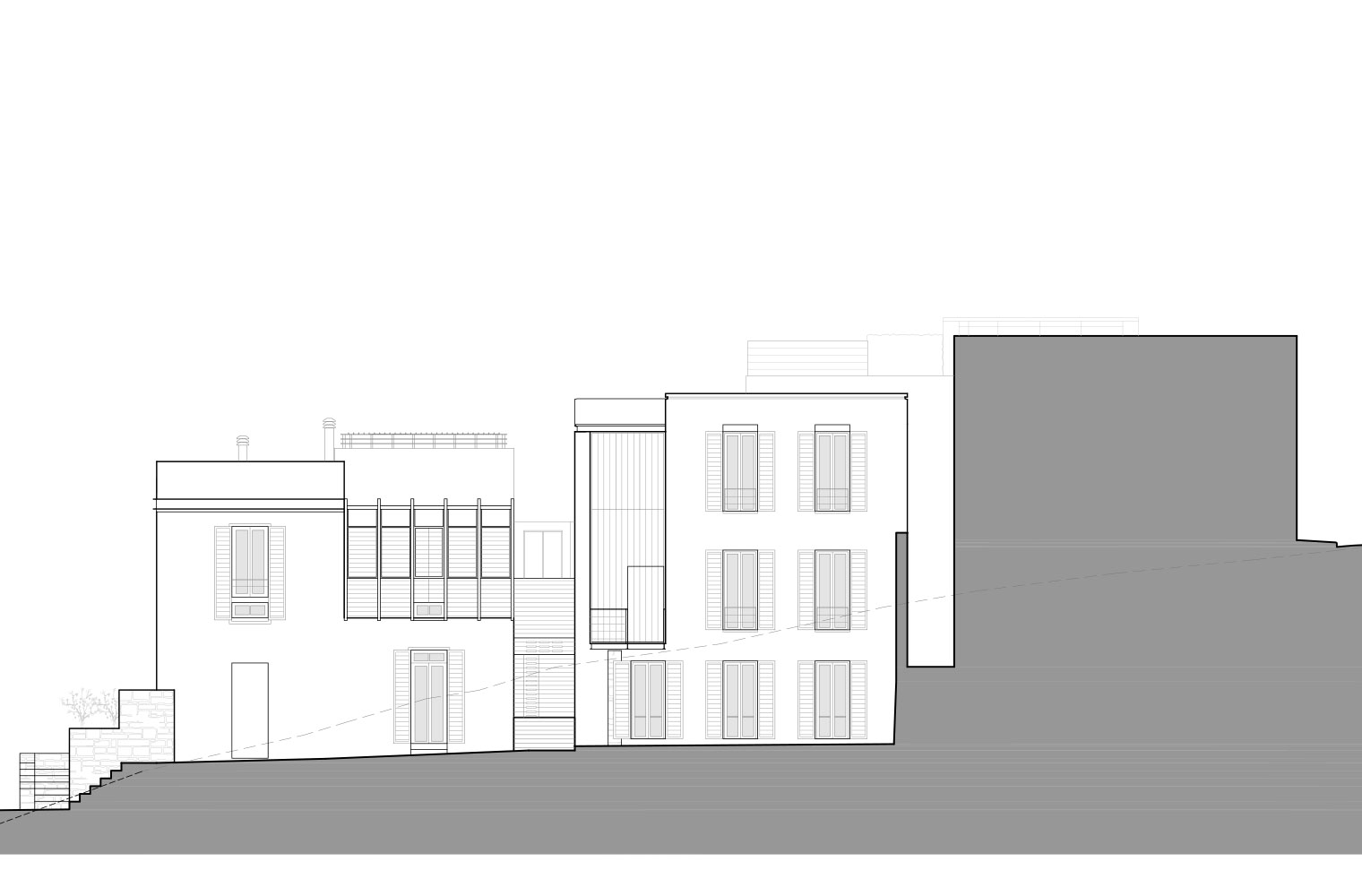 De Waterkant - Napier Street Elevation