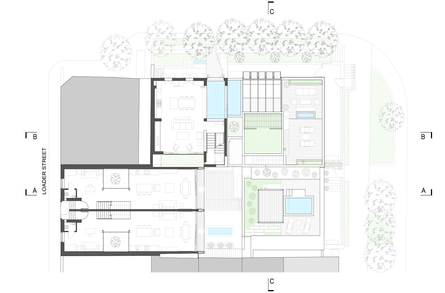 De Waterkant - Second Floor Plan