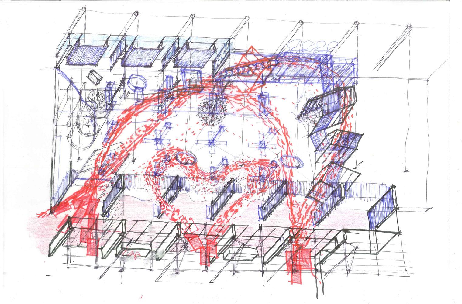 Kirstenbosch Shop-concept sketch