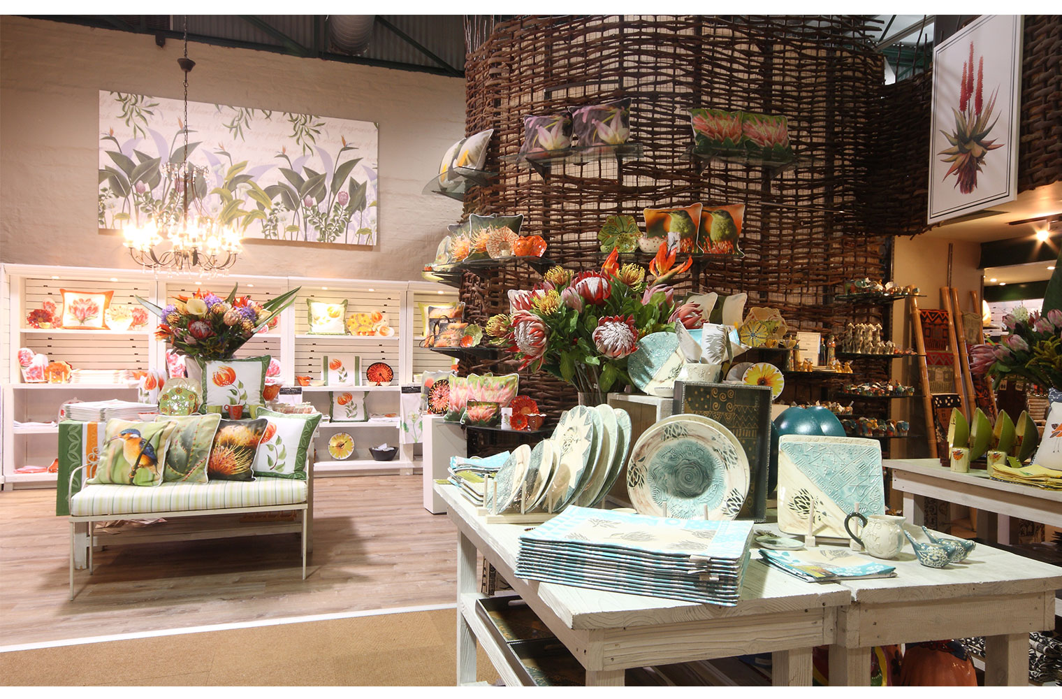 Kirstenbosch Shop-homewares area