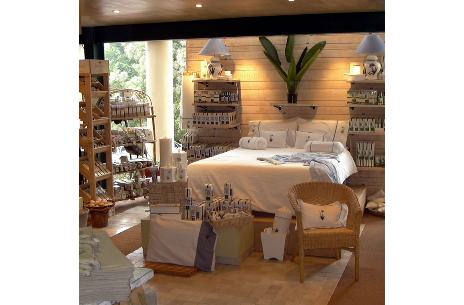 Kirstenbosch Shop-bath & body area